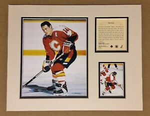Calgary Flames THEOREN FLEURY 1995 Hockey 11x14 MATTED Kelly Russell