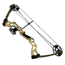 50-70 lb Camouflage Camo Archery Hunting Compound Bow 55 25 Crossbow Arrows lbs