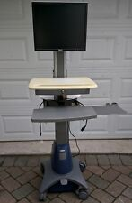 ERGOTRON SV21 STYLEVIEW MEDICAL EMR HEALTHCARE NOTEBOOK PC CART W/ DESKTOP ADAPT