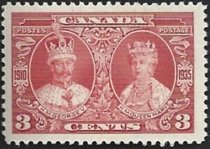 Canada-213-KING-GEORGE-V-amp-QUEEN-MARY-New-Issue-1935-Pristine-Gum