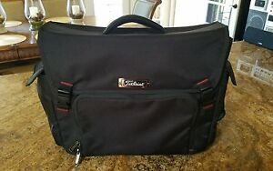 Image Is Loading Leist Professional Messenger Bag Black New Without Tags