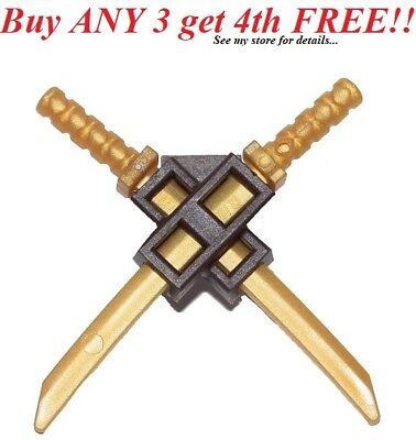 Lego Weapon Flat Silver Gray KATANA SWORD Ninjago Ninja Shamshir Samurai ☀️NEW
