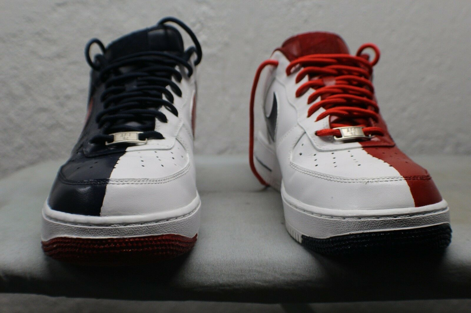custom painted olympic style air force 1 sneakers