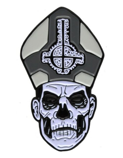 Trick or Treat Papa ll Emeritus Ghost Enamel Pin Brooch Costume Jewelry