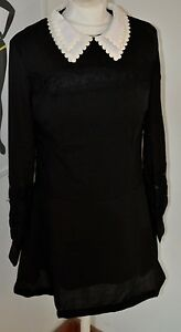 Mod-goth-dress-Pop-Boutique-1960s-style-black-lace-Wednesday-Adams-Dress