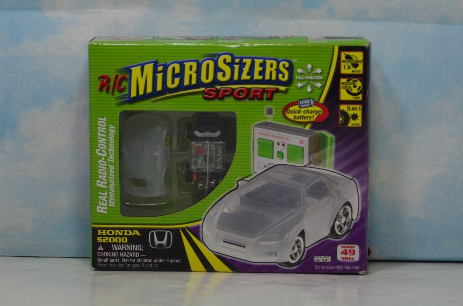 Rare TOY R C MICROSIZERS SPORT HOBBICO HONDA S2000