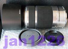 Sony SEL55210 55-210mm OSS Zoom bundle Lens Hood for NEX-5  NEX-7 BEST silver