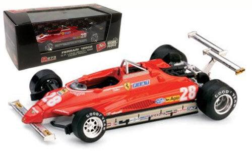 Brumm R273 Ferrari 126C2 Turbo - Long Beach USA GP 1982 - D Pironi 1 43 Scale