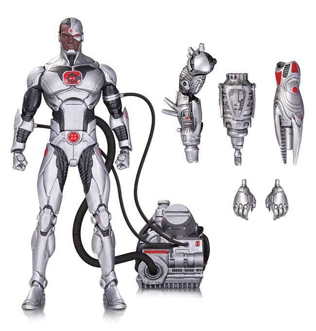 CYBORG Forever Evil DC COMICS ICONS 20 Collectibles Action Figure 16Cm