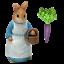 Rabbit Mrs Miniature Dollhouse FAIRY GARDEN Accessories