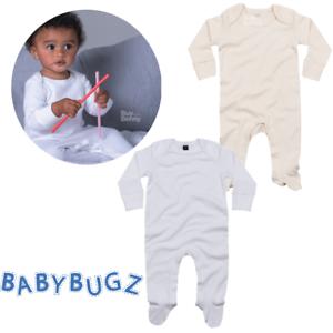 BABY-SLEEPSUIT-SCRATCH-MITTS-SOFT-ORGANIC-COTTON-ENVELOPE-NECK-BODYSUIT-NEWBORN
