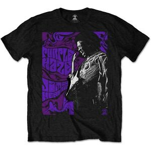 Jimi-Hendrix-Purple-Haze-Official-Merchandise-T-Shirt-M-L-XL-Neu
