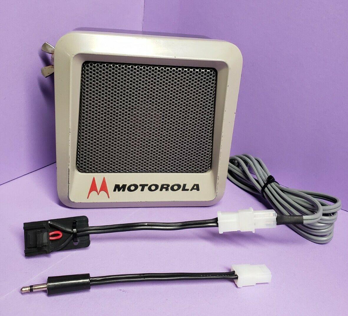 Motorola vintage speaker 16-Pin GM300 Maxtrac CDM1250 Radius XTL APX CM PM Grey. Buy it now for 150.00