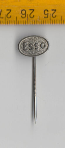 Drop Station Vintage ESSO Oil Fuel pin badge 1960s Tiger Exxon Mobil Petrol Mr