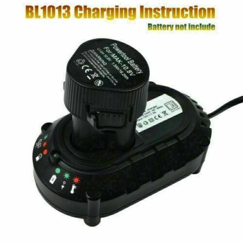 Neu 7.2//10.8//12V Li-ion Batterie Ladegerät für MAKITA DC10WA DF030D BL1013 DE