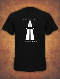 KRAFTWERK-AUTOBAHN-RETRO-TECHNO-Mens-T-Shirt-Black