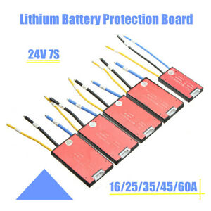 24V-7S-18650-Li-ion-Li-Polymer-Electric-Battery-BMS-PCB-PCM