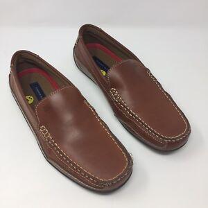 Tommy Hilfiger Men/'s Dathan Boat Shoe Light Brown