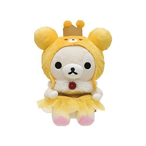San-X Rilakkuma Korilakkuma Bee M-size Honey Harvest Festival Plush Stuffed JP