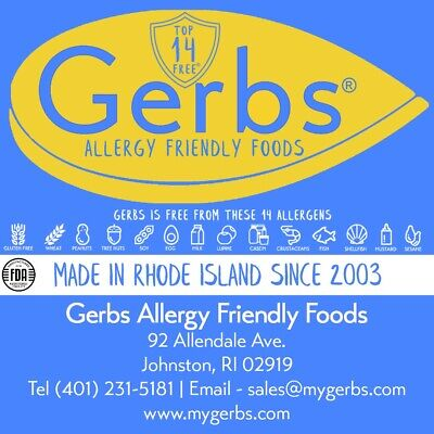 Gerbs Allergy Friendly Foods