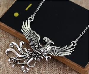 Harry-Potter-Horcrux-Locket-NECKLACE-Phoenix-Necklace-New