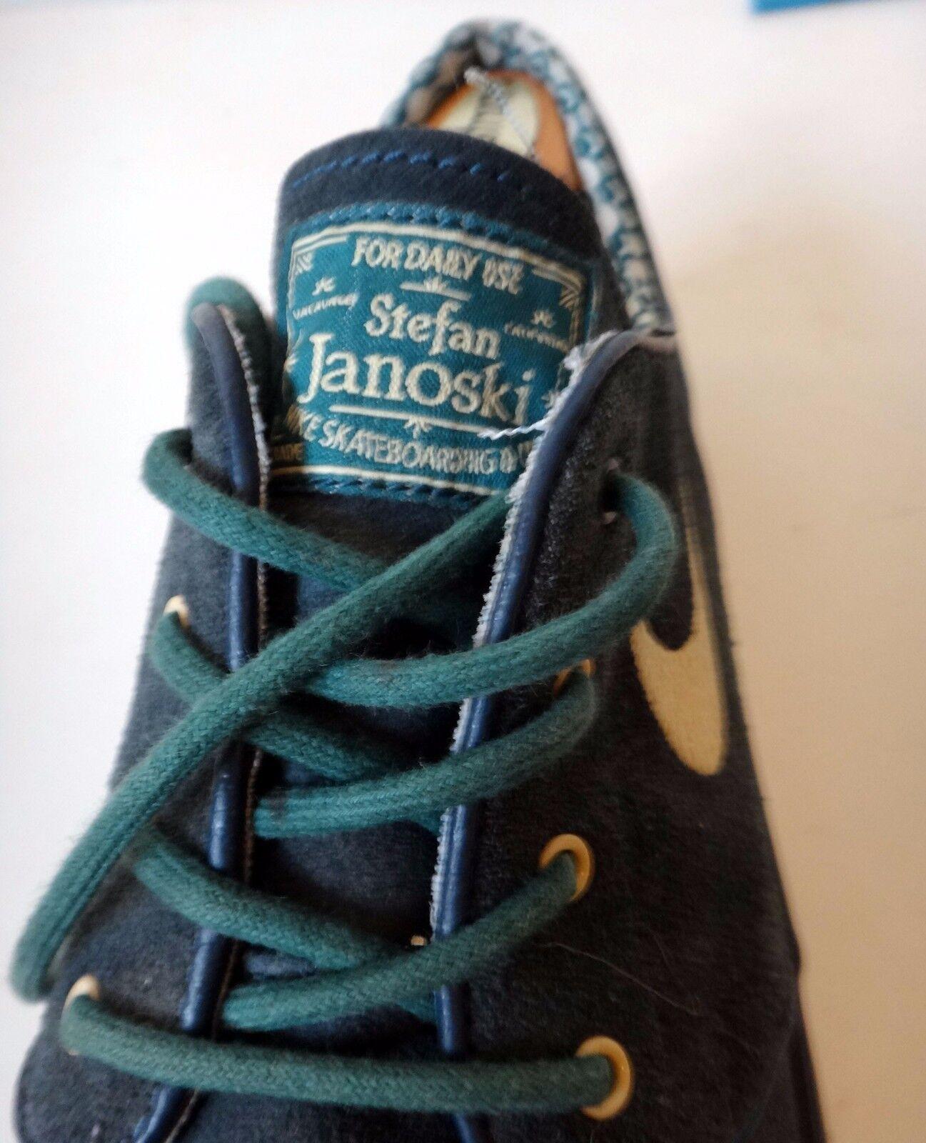 Stefan janoski nike sb - blau luft 11.5us 45.5eu blau - bestickt skateboard. 4c7ef1