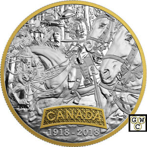 2018-039-Canada-First-World-War-Allied-Forces-039-Prf-20-Fine-Silver-Coin-18515-NT