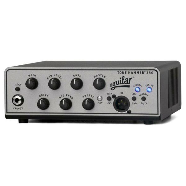 aguilar tone hammer 350 bass guitar amplifier head for sale online ebay. Black Bedroom Furniture Sets. Home Design Ideas