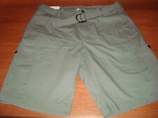 Carter/'s Infant Boys Cargo Shorts Olive Green NWT peached canvas