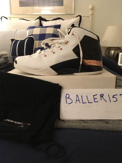 "2002 Nike Air Jordan 17+ ""Copper"" Croc 304709-108 SZ11.5"