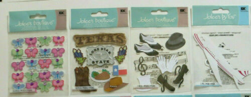 Jolees Packs of Butterfly Travel Vacations Party Fun Turtles Mommy You Choose