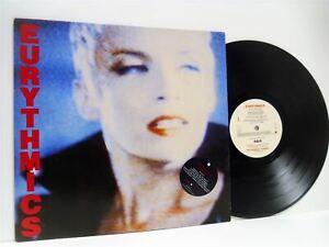 THE-EURYTHMICS-be-yourself-tonight-LP-EX-VG-PL-70711-vinyl-with-inner-album