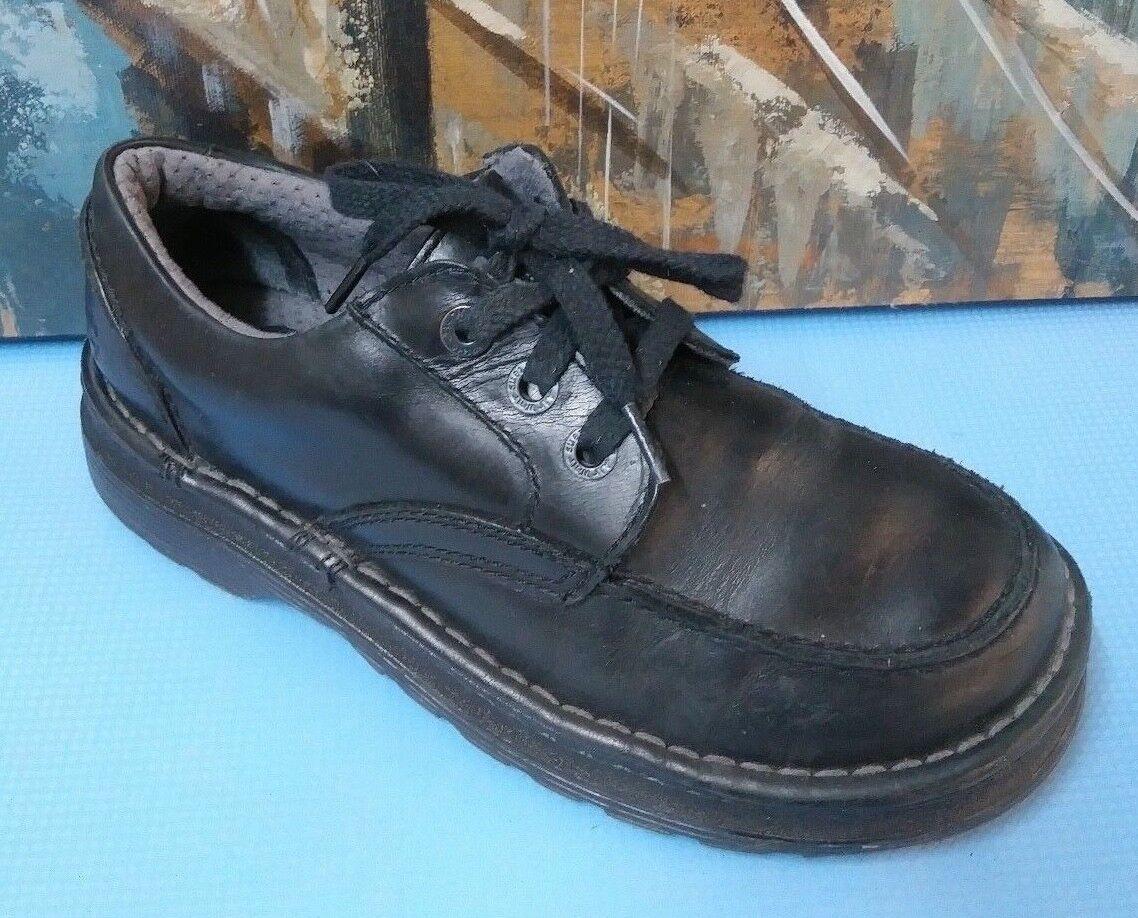 DR Martens Maddock Black Leather Oxfords Laced shoes US size UK7 USM8