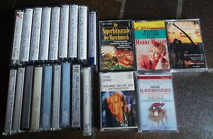 23 Musikkassetten -5 x Org.und 18 x Aufgenomene -Dachbodenfund - Rödental, Deutschland - 23 Musikkassetten -5 x Org.und 18 x Aufgenomene -Dachbodenfund - Rödental, Deutschland