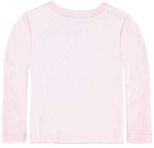 Bellybutton ® Baby manga larga camisa camiseta estrella rosa talla 62 68 74 80 86 nuevo!