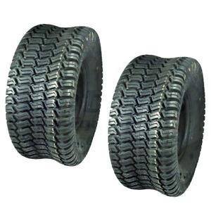 2 Turf Saver Tires 15x6x6 15x6 6 15 6 6 Lawn Mower Tire
