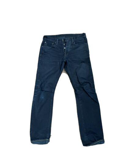 iron heart jeans 555s-142OD 14oz Overdyed Slim W31