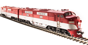 Broadway Limited 5419 HO EMD E7 AB Set SP #6002A/6002B A-unit DCC Sound