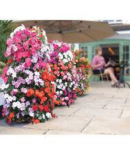 Vertical Gardening Planter Flower Tower Freestanding w/ Internal Watering Tube