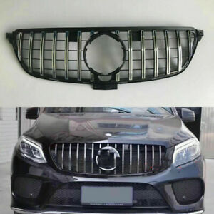 Front-Grille-Grill-For-Mercedes-Benz-W166-ML300-ML350-ML400-2013-2014-2015-GTR