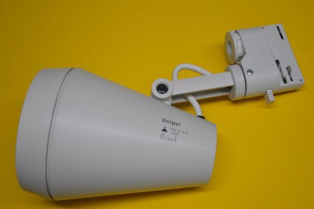 ERCO Domotec AUFBAUSTRAHLER 77201 für 3-Phasen Stromschiene E27  LED tauglich