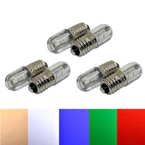 I1 Ersatz Beleuchtung  warmweiß 6 Volt A1b LED E10 Herrnhuter Stern A1e