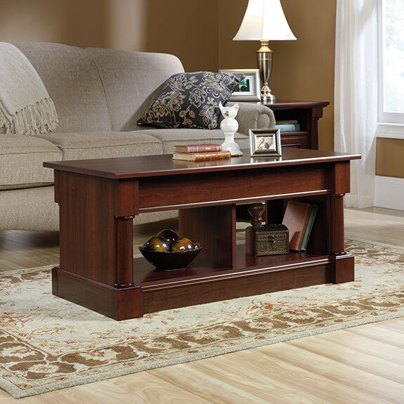 s l1600 Lift Top Coffee Table   Select Cherry   Palladia Collection (420520)