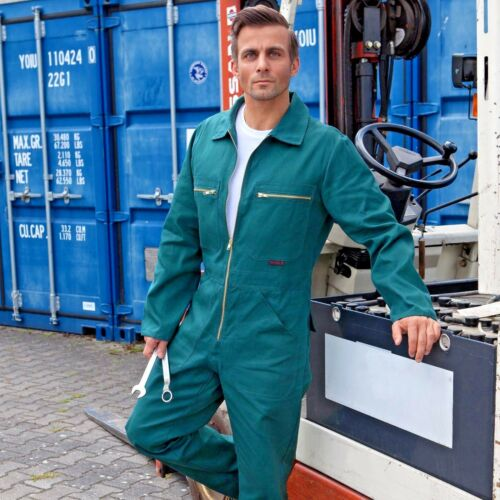 Qualitex ® rally combinado mono de trabajo azul hombre trabajo combinado Classic bw270