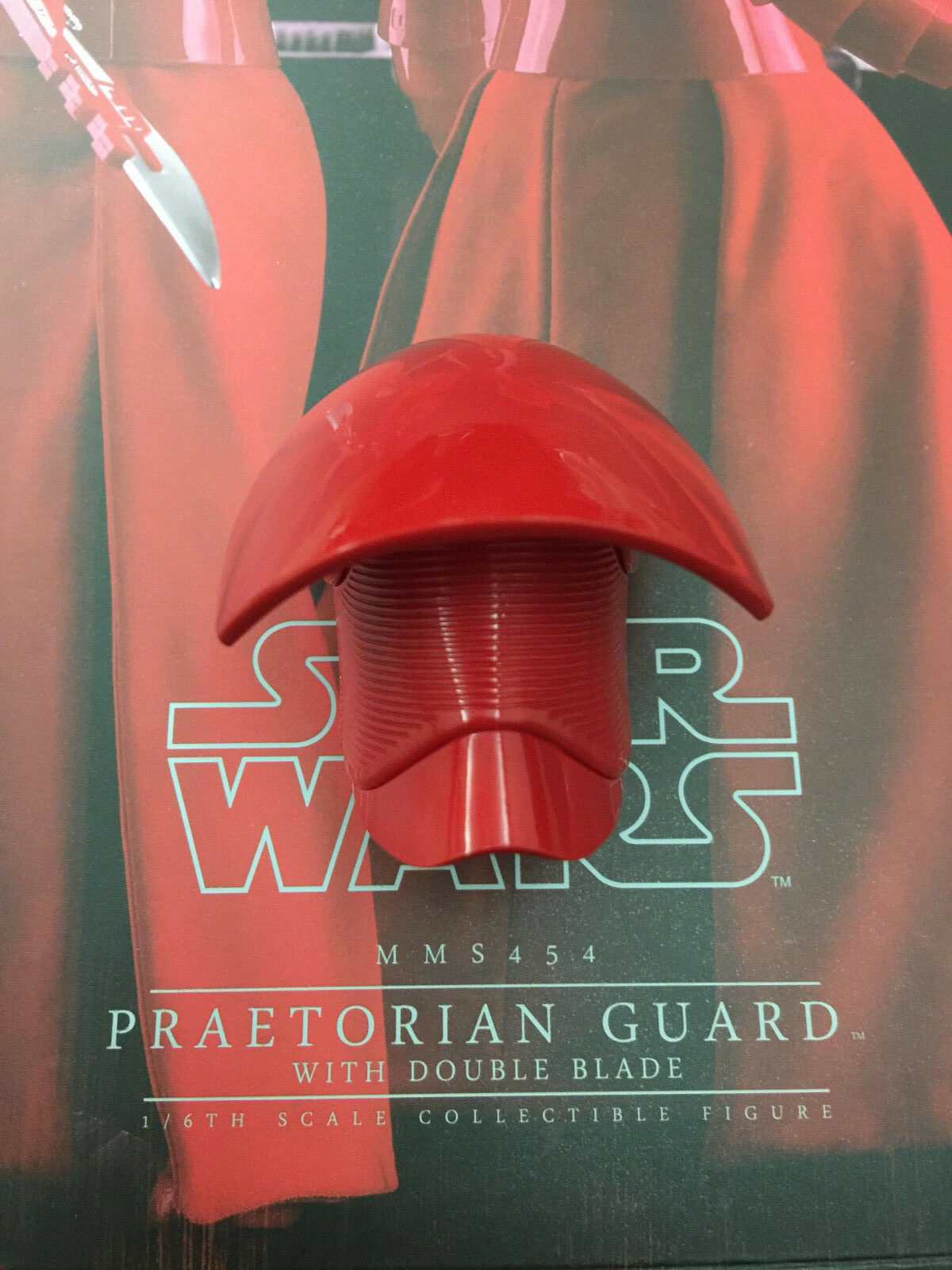 Hottoys praetorian praetorian praetorian guard with double blade MMS454- 1 6th Scale Helmet version.2 b90eae