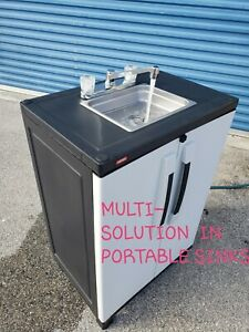 Outdoor Sink Portable Hand Washing Sink Station Self Contained Garden Sink Ebay