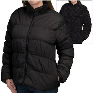 Dylan-Womens-Reversible-Puffer-Jacket-Faux-Fur-Down-Insulated-Winter-Jacket-L
