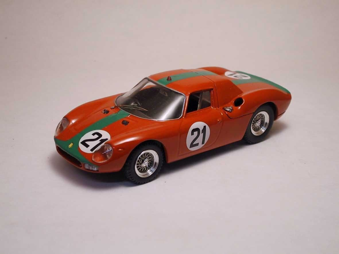 Ferrari 250  LM  21 8th Monza 1966 de MP pleixinho 1 43 Model  40% de réduction