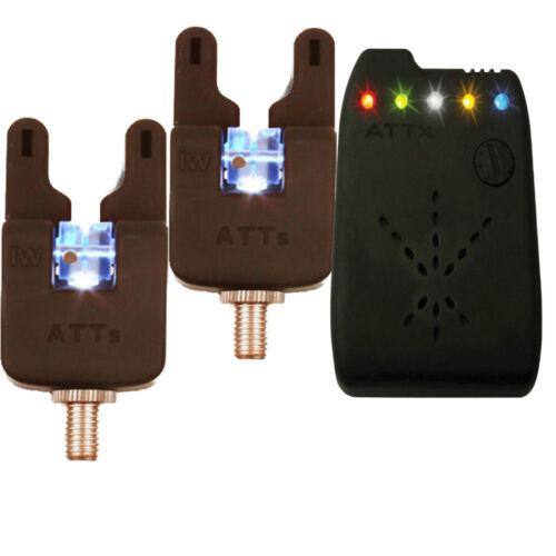 V2 ATTx Receiver *Brand New* Gardner ATTs Underlit Wheel Bite Alarms x 2