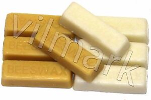 Beeswax-Filtered-100-Pure-White-Yellow-Bees-Wax-Cosmetic-Grade-A-Blocks-Bricks